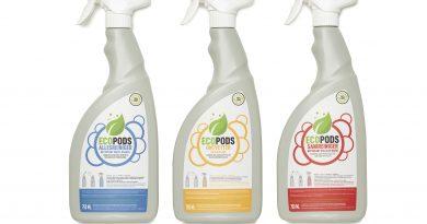 Ecopods kiest voor verstuivers van gerecycleerd plastic