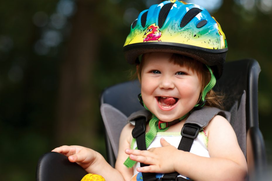 wanneer kind mee op fiets